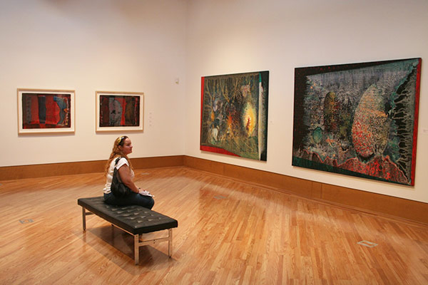 more images from the miami paintings the frost art museum miami